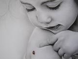 Děvčátko a beruška