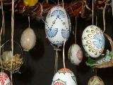 Malovaná husí vejce