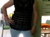 Černá halenka