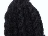 Retro čepice na zimu