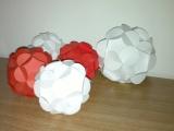 Vianočné papierové gule