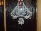 Vánoční háčkování - dvojzvonek