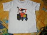 dětské tričko Traktor