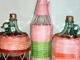 opletené láhve,demižony