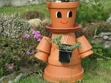 Panenka do zahrady