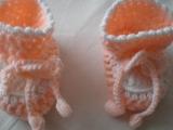 Háčkovaná soupravička pro novorozence