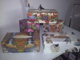 Decoupage dřevěných krabiček na kapesníky