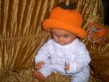 Háčkovaný podzimní klobouček
