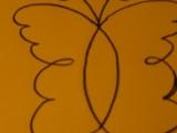 Polštářek s motýlem