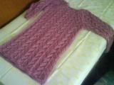 starorůžový svetr
