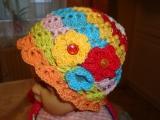 Jarní barevná  čepička