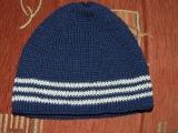 Podzimní / jarní chlapecká čepice (vel. 2 - 3 roky)