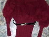 Dlouhý teplý svetr z Angory pro Miriamku