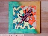falešná mozaika