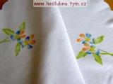TanCart - stírání voskovek na textil