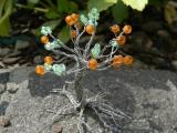 Stromček šťastia z korálok