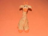 Háčkovaná žirafa