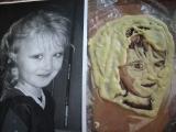 portret z čokolady