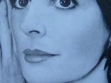 Enya - portrét podle předlohy