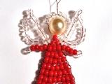 Korálkový andělíček