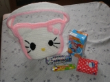 Háčkovaná kabelka Kitty pro malé slečny