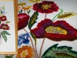 vyšívání malování jehlou