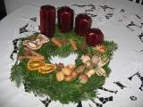 vánoční věnečky od Nadi