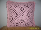 růžový polštářek