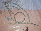 Naušnice,náramek,náhrdelník