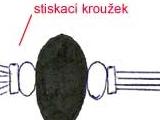 Černo-bílé lanko