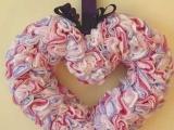 Valentýnské srdce papírové
