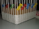 Košíčky z novin