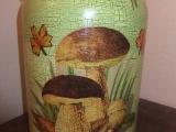 Láhve na sušené houby