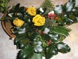 růžičky z listí