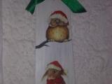 Vánoční dekorace-recyklace