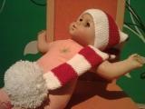 Čepice - vánoční