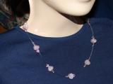 """Jednoduché náhrdelníky  """"na jedno kopyto"""""""
