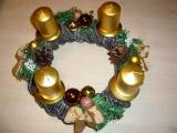 Vánoční pletení z papíru