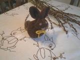 Pletený zajíček