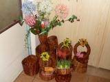 pletení z papíru váza a jiné...