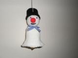 Háčkované zvonky - vánoční dekorace