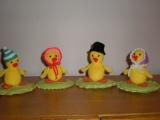 Kuřátka-velikonoční dekorace