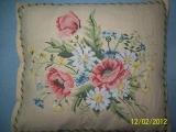 Květinové polštáře