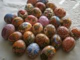 Moje  velikonoční malovaná vajíčka