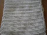 Háčkované šály /tuniská technika /