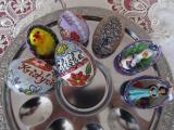 Husí ručne malované vejce