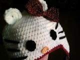 čepice pro malé parádnice Kitty