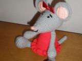 Eliška / háčkovaná myška /