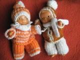 Oblečky na panenky ze zbytků