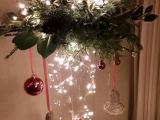 ... Jak vyrobit vánoční dekorativní vázu s osvětlením